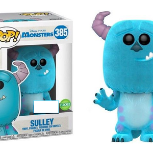 Disney - Monsters Inc - Sulley - Flocked (385) - Collekt