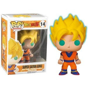 Dragon Ball Z - Super Saiyan Goku -  GITD (14) - Collekt - Funko Pop