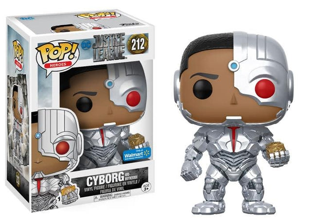 Justice League - Cyborg with Mother Box (212) - Collekt