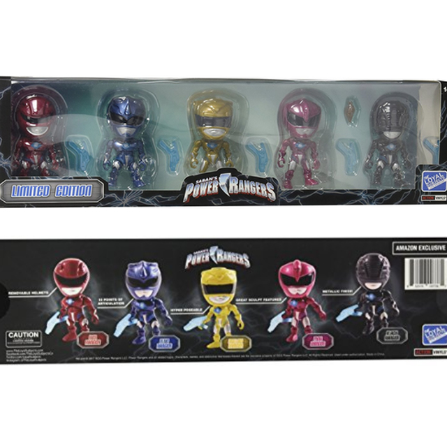 Power Rangers Action Vinyls Collectible Action Figures - The Loyal Subjects