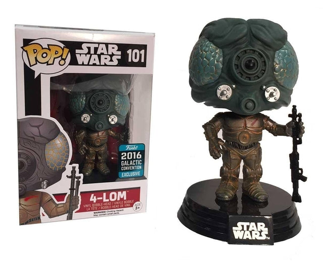 Star Wars - 4-Lom (101) Pop! Vinyl, Funko - Collekt.co.uk