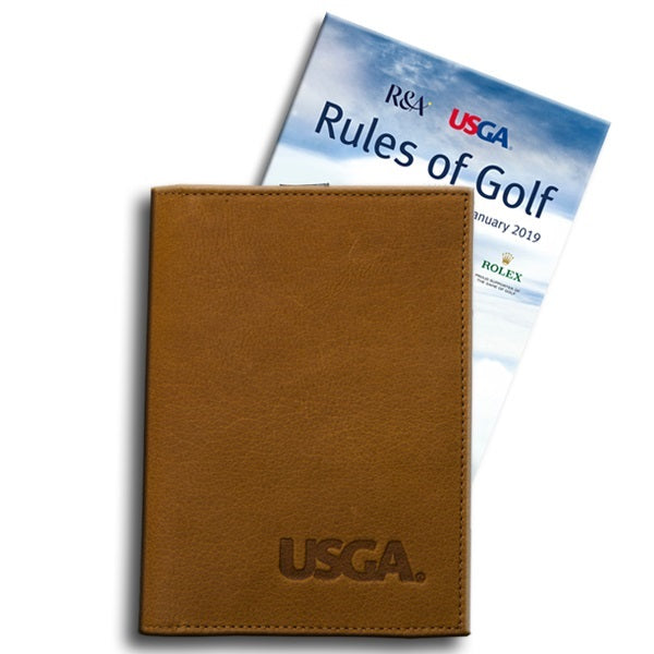 Leather Cover for the Rules of Golf