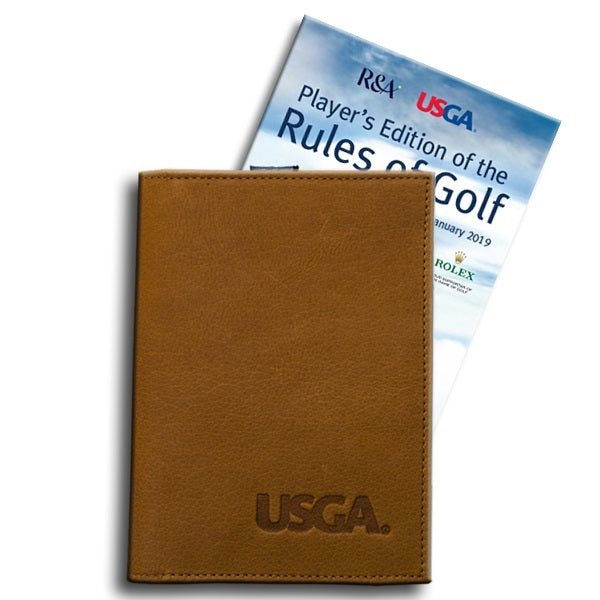 Leather Cover for the Player's Edition of the Rules of Golf