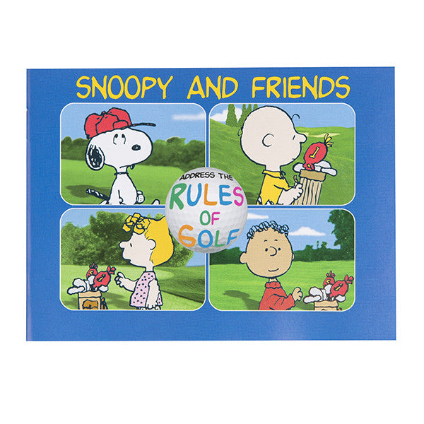 Snoopy & Friends Address The Rules of Golf