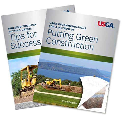 USGA Recommendations For a Method of Putting Green Construction PLUS Tips for Success – Set of Two Booklets