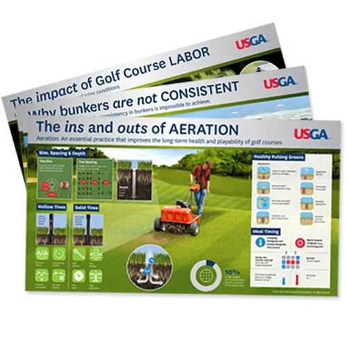 Course Care Educational Posters – Set of Three Posters