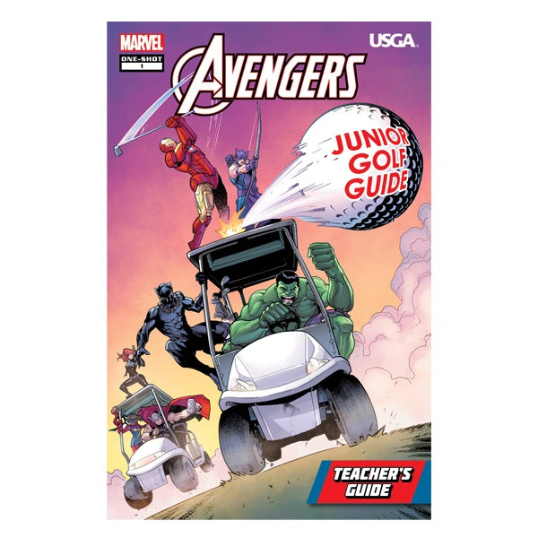 Avengers: Junior Golf Guide – Teacher's Edition (B2B)