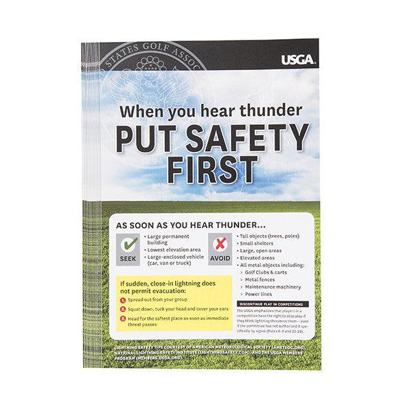 Lightning Safety Decals (20)
