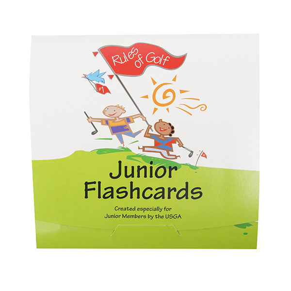Rules of Golf:  Junior Flashcards
