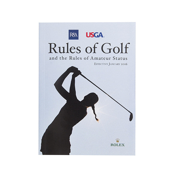 Rules of Golf - 2016 Edition