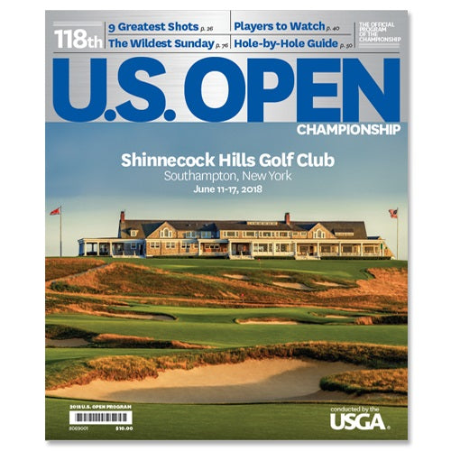 2018 U.S. Open Program Shinnecock