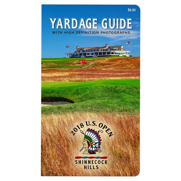 2018 U.S. Open Yardage Guide Shinnecock