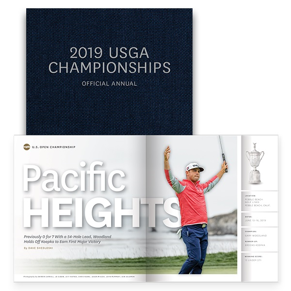 Pre-Order 2019 USGA Championships Official Annual