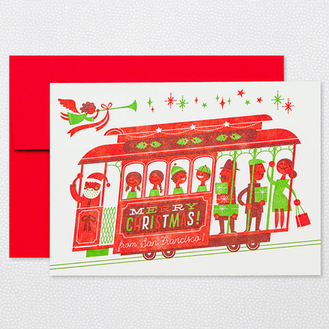 Cable Car Christmas