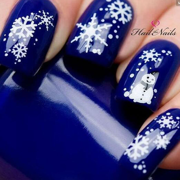 1 PC Christmas Nail Art Design - Toyzor.com