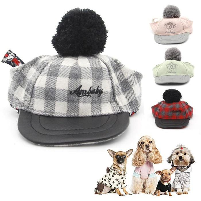 1 pcs Summer Pets Sun Hat Oxford Cloth Small Dog Baseball Caps Beach Breathable Cap Chihuahua Yorkshire Teddy Dog Caps A40