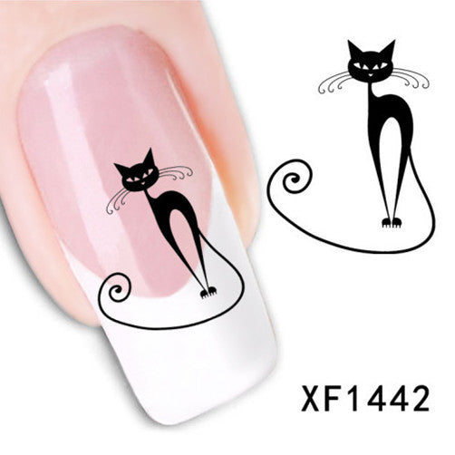Water Transfer Full Cover Nail Sticker