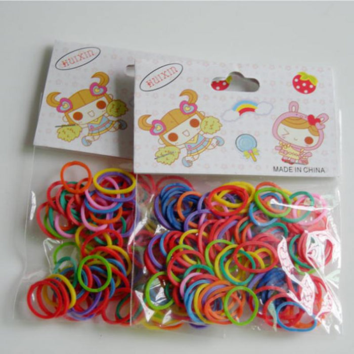 100pcs/Bag Newest Colorful Pet Beauty Supplies Dog Grooming Rubber Band - Toyzor.com