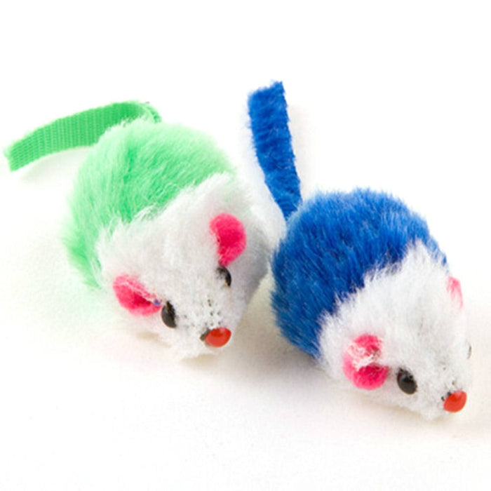 Colorful Feather Mice