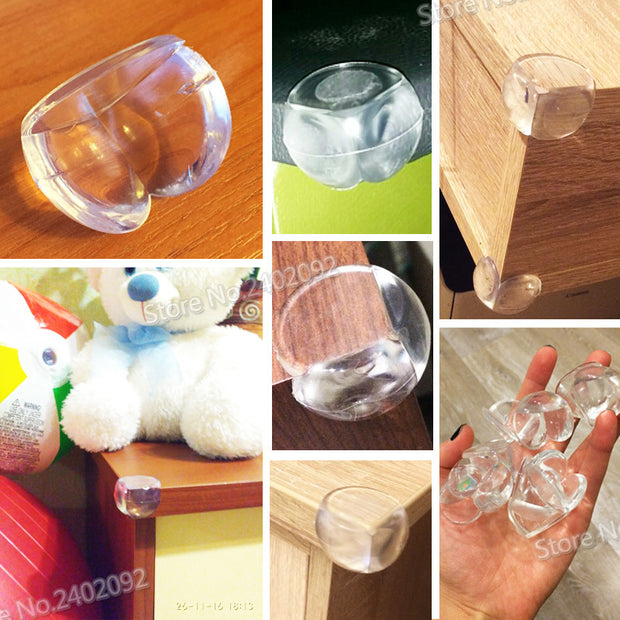 Child Safety Silicone Protector Table Corner Edge  - 12 Pcs - Toyzor.com