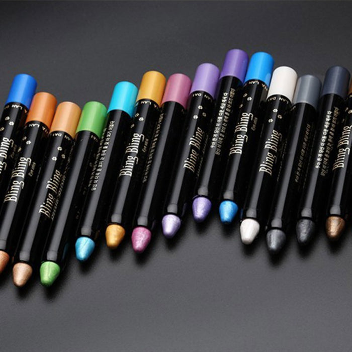 15 Colors Highlighter Eye-shadow Pencil - Toyzor.com