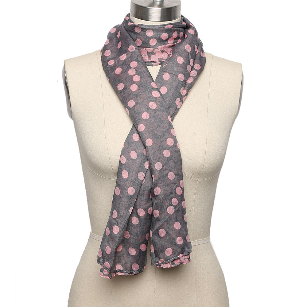 Lovely Women's Soft Cotton Scarf