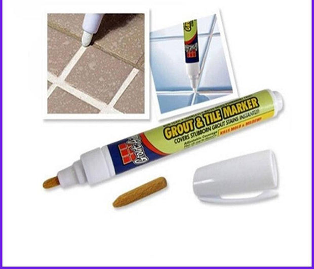 Cleaning Tools Aide Tile Marker White Repair Wall Pen Packaging
