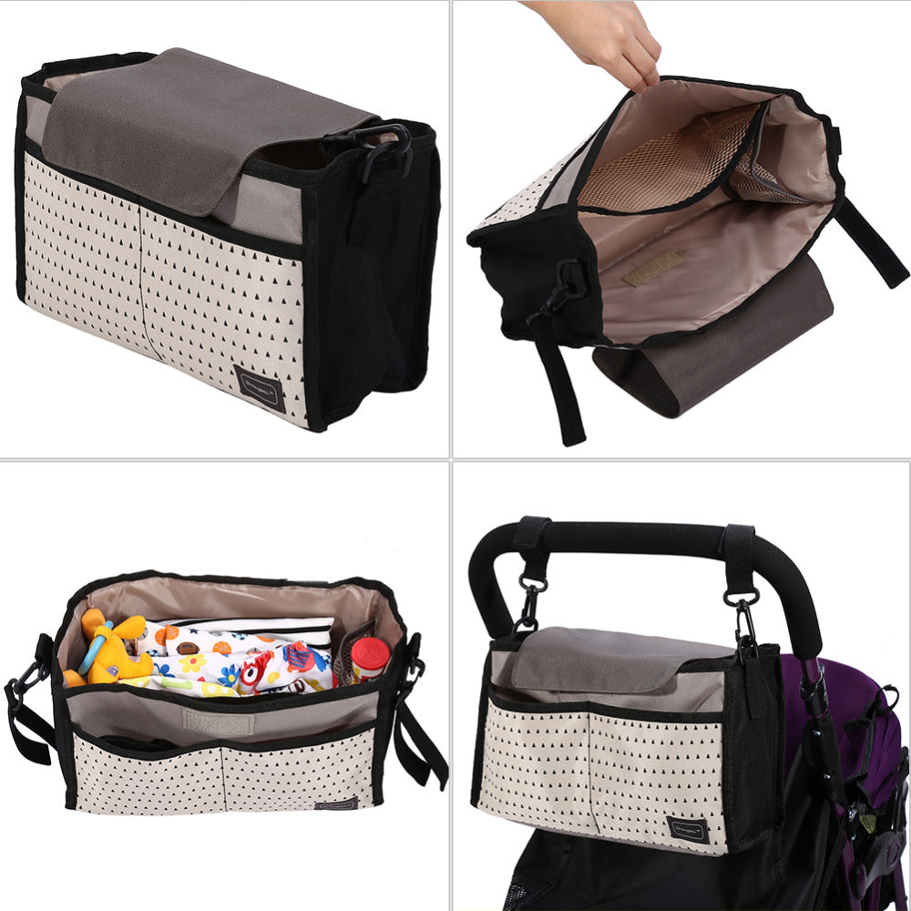 2 Colors Diaper Bag Baby Milk Bottle Insulation Mummy Storage for Baby Stuff