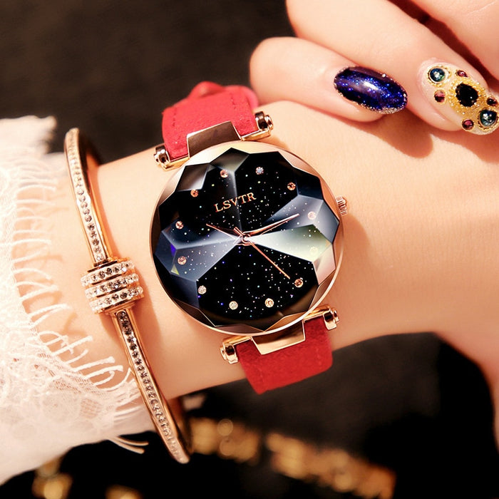 Romantic Starry Sky Wrist Watch - Multiple Colors