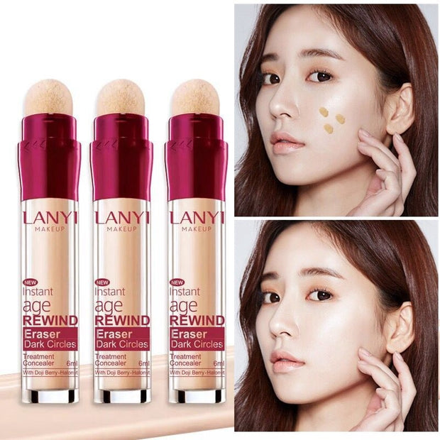 2018 New Hot Face Foundation Concealer Pen Long Lasting Dark Circles Corrector Contour Concealers Stick Cosmetic Makeup Fastship