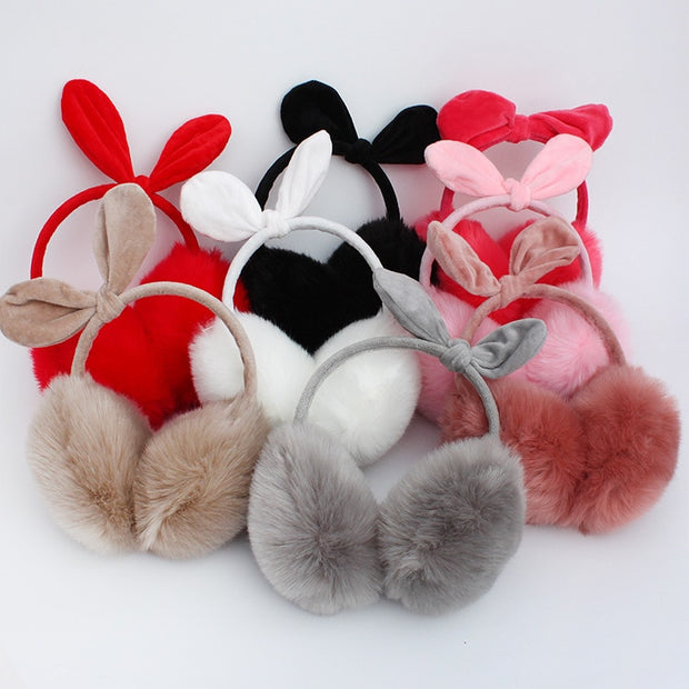 Cartoon Cat Ear Earmuffs - Toyzor.com