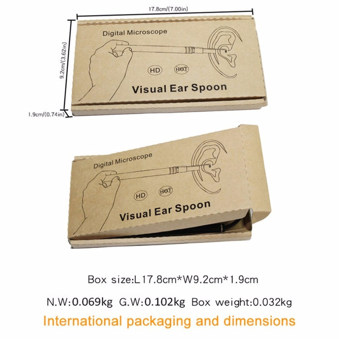 HD Visual USB Ear Cleaning Tool