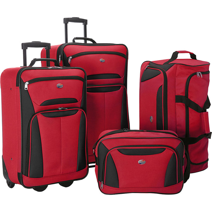American Tourister Fieldbrook II 4-Piece Luggage Set - Toyzor.com