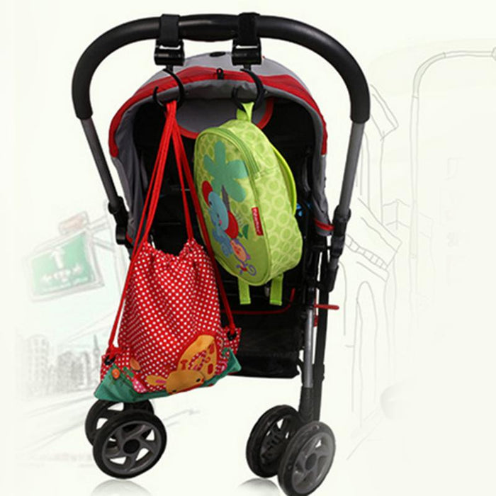 2 Pieces/Set Multi function Baby Stroller Hook - Toyzor.com