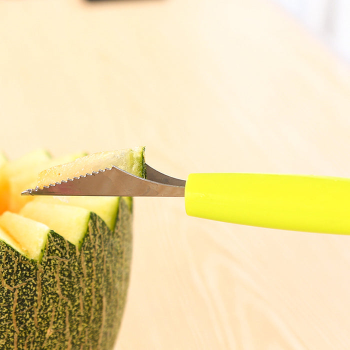 Fruit Ball Carving Knife and Spoon - Toyzor.com