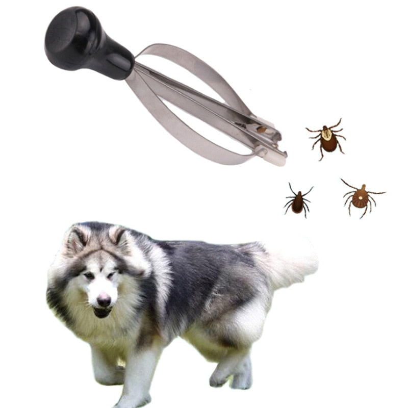 Stainless Steel Fleas Lice Tick Twister Remover Tools For Human Pet Cat Dog