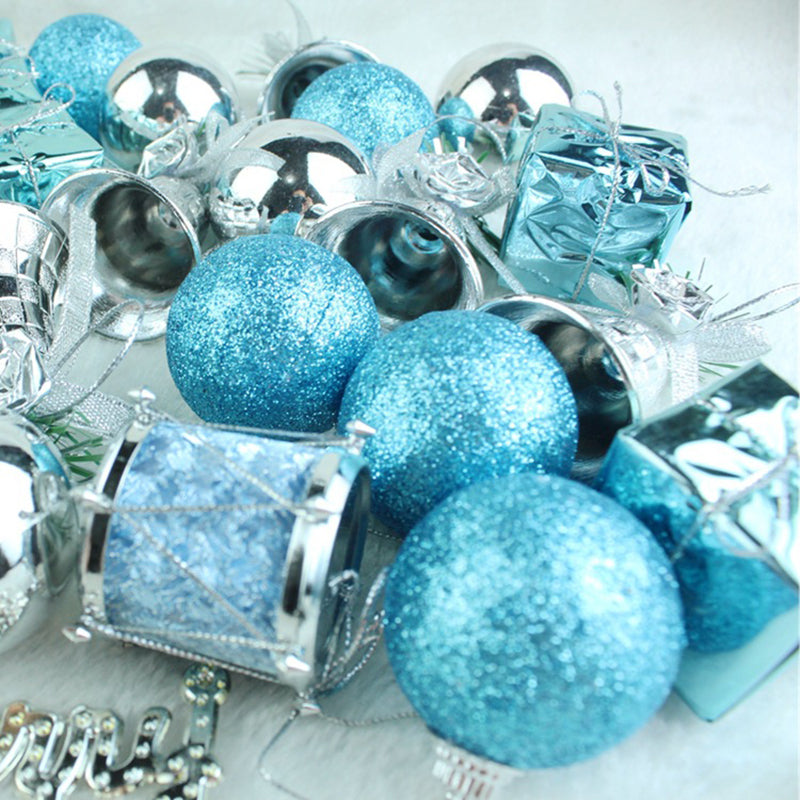 32pcs/lot Christmas Tree Decor Ball Bauble Hanging Ornament