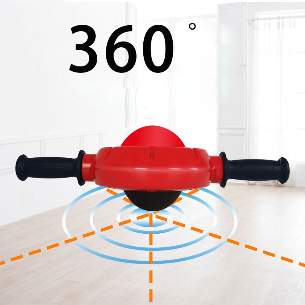 360 Degrees All-Dimensional Abdominal Wheel No Noise Ab Roller Massager