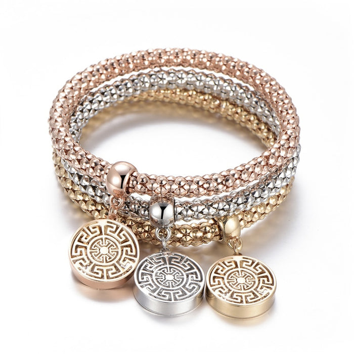 3 Pieces Tree of Life Bracelet - Toyzor.com