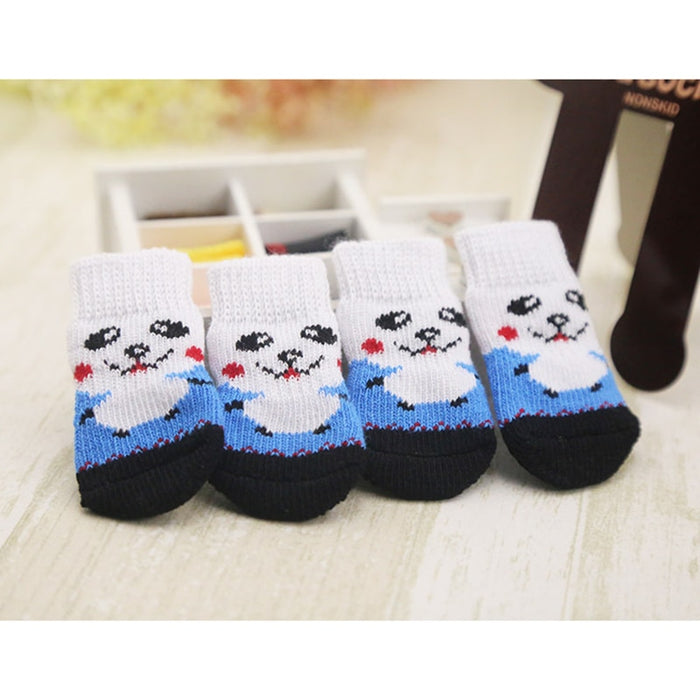 4 pieces Warm Dog Shoes/Socks - Toyzor.com