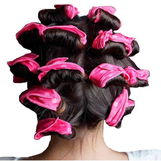 6 Pieces Soft Roller Hair Curlers - Toyzor.com