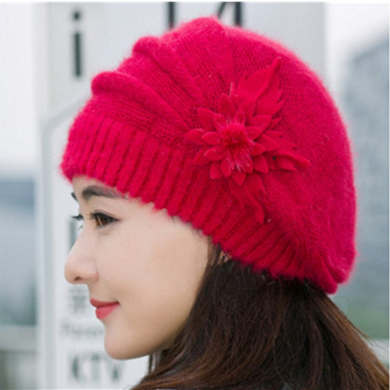 Warm Winter Hats For Women - Red