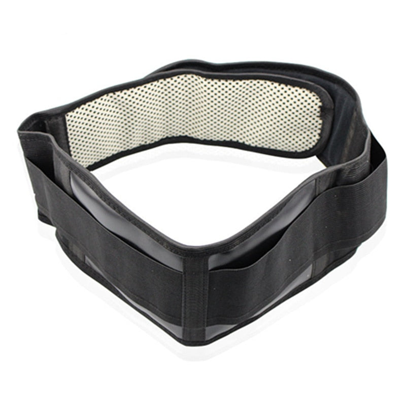 Adjustable Tourmaline Self-heating Magnetic Therapy Waist Brace Double Banded