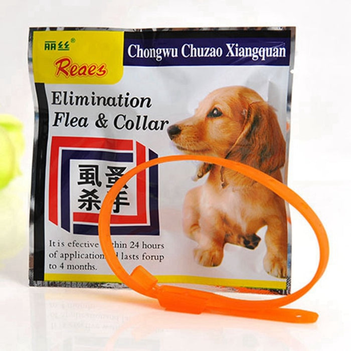 Anti Flea Tick Mosquitos Protection Adjustable Dog Cat Safety Collar