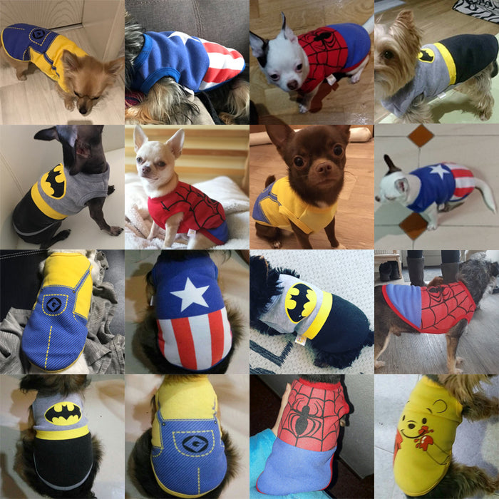 Autumn / Winter Puppy Pet Coats Clothing Costume