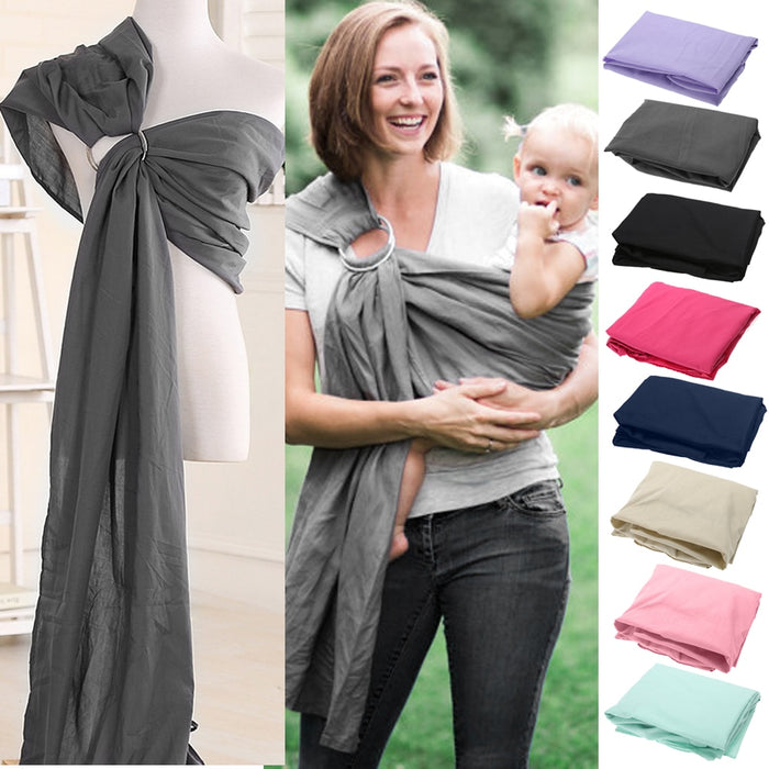 Baby Carrier Breathable Wrap Double Ring Sling Adjustable Quick Dry - Toyzor.com