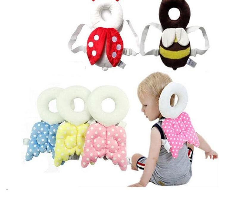 Baby Pillow Head protection pad with Angel Wings - Toyzor.com
