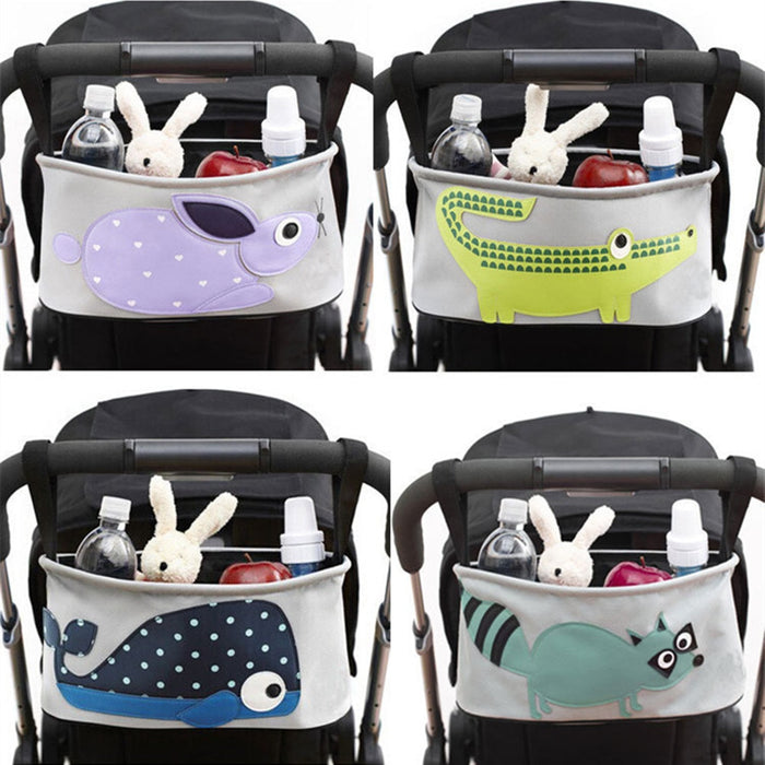 Baby Carriage Pram Cart Animal Storage Mummy Nappy Bag - Toyzor.com