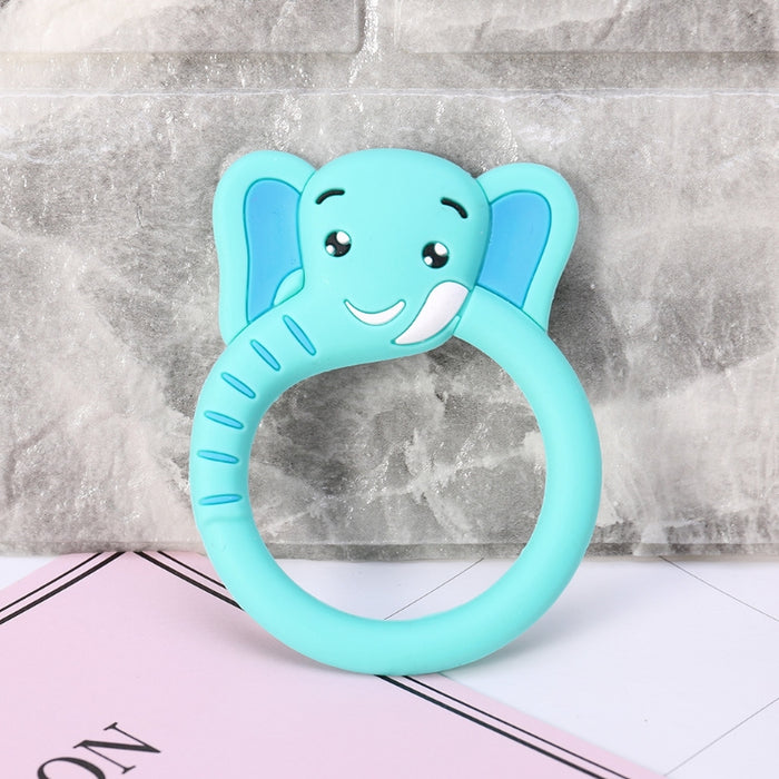 Baby Teether Pacifier Cartoon Teething Silicone BPA Free
