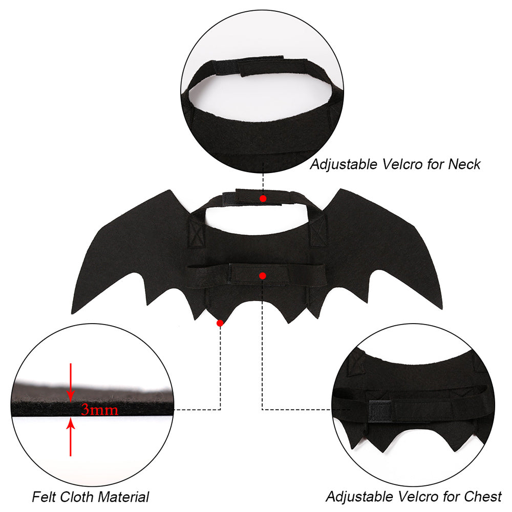 Bat Wing Clothes For Cats Puppy Costume - Toyzor.com